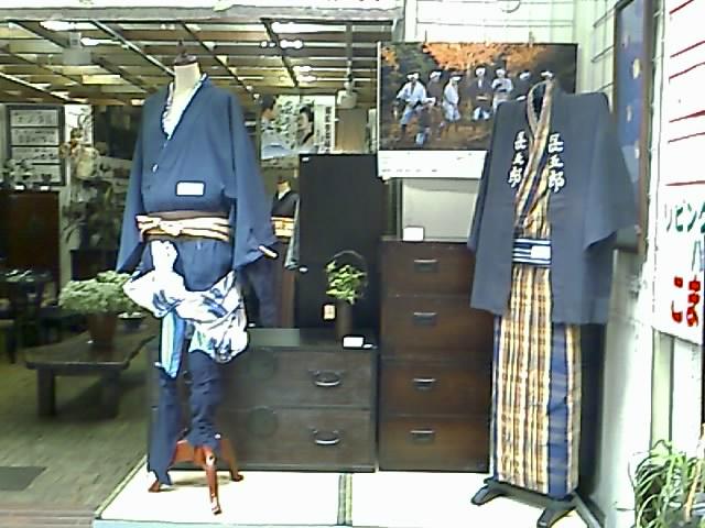 次郎長と森の石松の衣装!