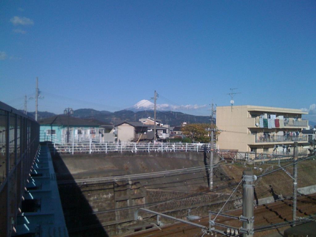 いやー富士山綺麗やったなぁ!