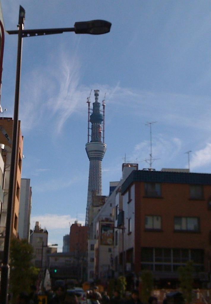 今更なんですが、東京スカイツリー
