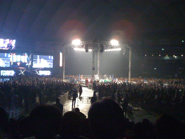WRESTLE KINGDOM V @東京ドーム!プロレス観戦(^∇^)