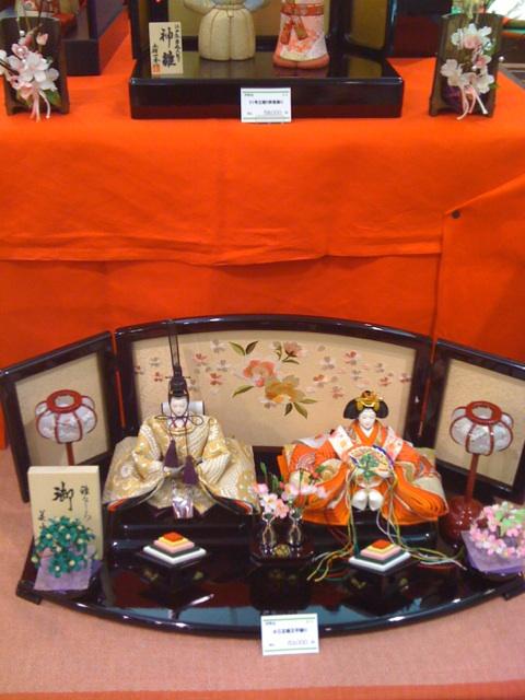 静岡は雛人形で有名です