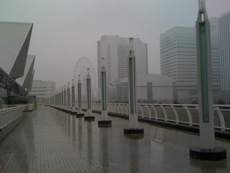 CP+@パシフィコ横浜!雪ですね。