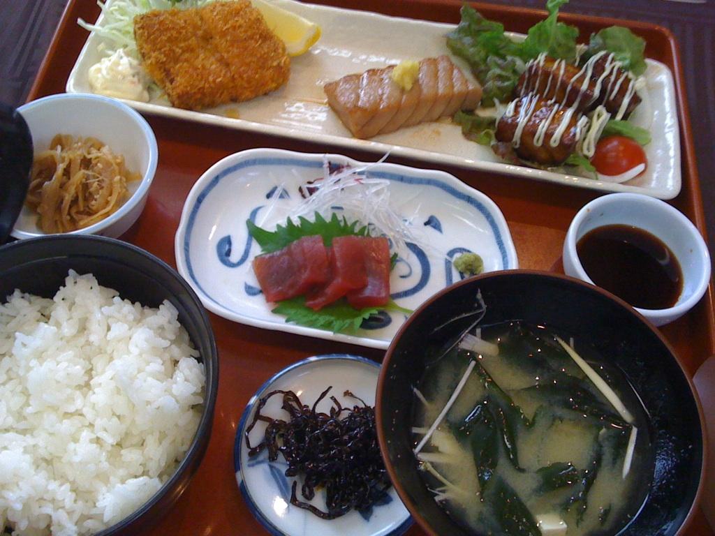 日本料理 うおかね @静岡市浅間通り商店街