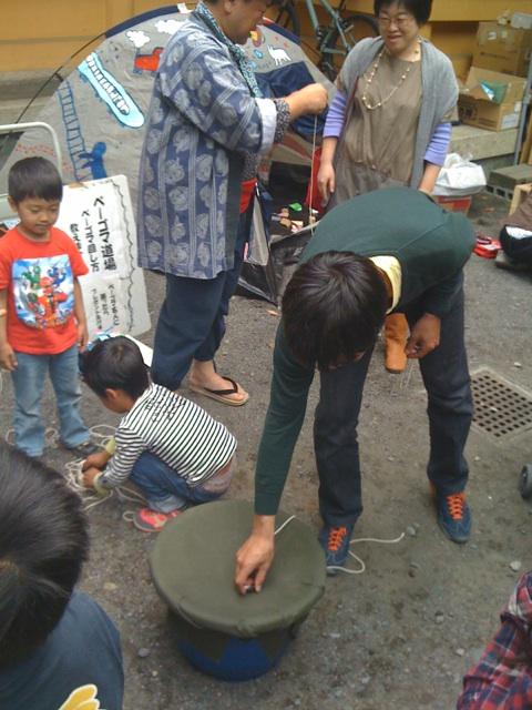 子供の日!放送前に静岡PARCO前のおぐし神社へ
