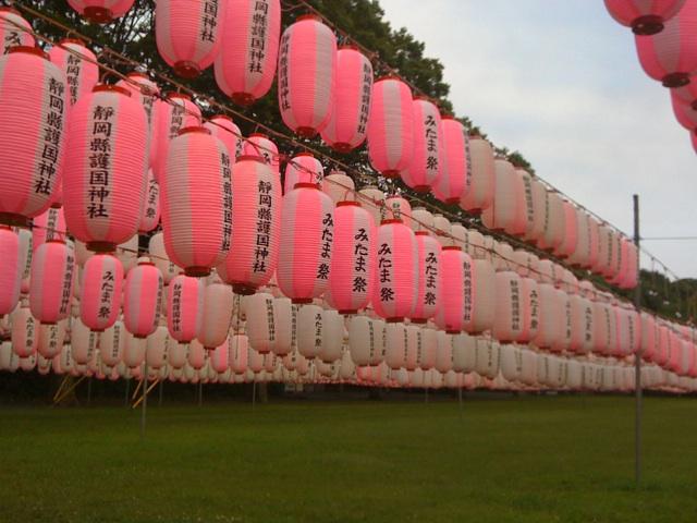 静岡県護国神社のみたま祭